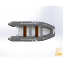 F-RIB 360 - merevaljú, műanyag, összehajtható RIB hajó