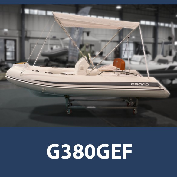 GRAND G380GEF, fehér PVC